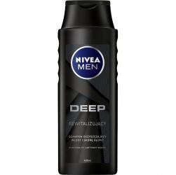 Nivea MEN szampon do włosów 400ml Deep Rewitalizujący