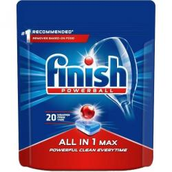 Finish All In 1 tabletki do zmywarek 20 sztuk Regular