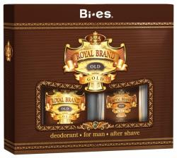Bi-es zestaw Royal Brand Gold (płyn po goleniu+dezodorant)