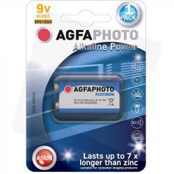 AgfaPhoto baterie alkaliczne 6LR61 9V 1szt