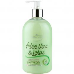 Astonish mydło w płynie antybakteryjne 500ml Aloe Vera & Lotus