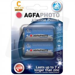 AgfaPhoto baterie alkaliczne C LR14 1,5V 2szt