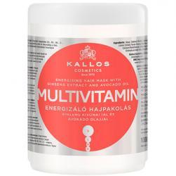 Kallos maska Multivitamin do włosów wyblakłych i osłabionych 1000ml