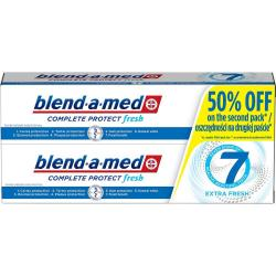 Blend-a-med Complete 7 pasta do zębów Estra Fresh 2x100ml