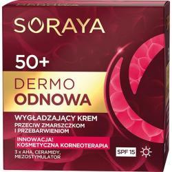 Soraya Dermo Odnowa 50+ krem wygładzający na dzień 50ml
