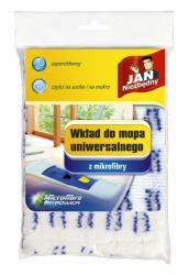 Jan Niezbędny mop płaski z mikrofibry wkład biały