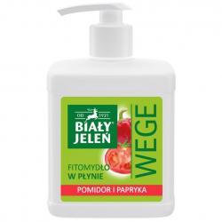 Biały Jeleń WEGE mydło w płynie 500ml Pomidor i Papryka