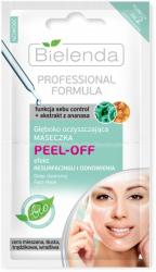 Bielenda Professional Formula głęboko oczyszczająca maseczka PEEL-OFF 2x5g