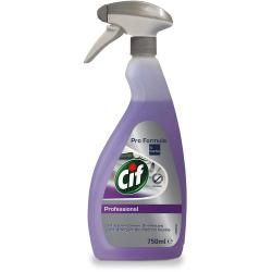 Cif Professional 2w1 Cleaner Disinfectant 750ml do dezynfekcji