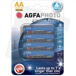 AgfaPhoto baterie alkaliczne AA LR6 1,5V 4szt