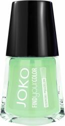 Joko lakier do paznokci Find Your Color 133 Gunpowder with mint