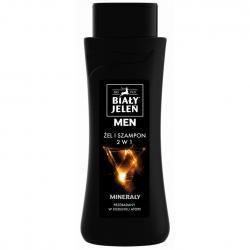 Biały Jeleń żel i szampon For Men 2w1 300ml minerały