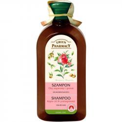 Green Pharmacy szampon do włosów 350ml Olejek Arganowy i Granat