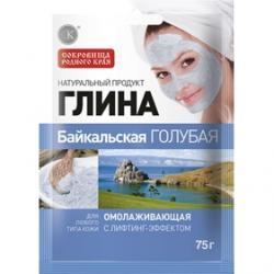 Fitokosmetik Glinka Błękitna Bajkalska 75g Odmładzająca z efektem liftingującym