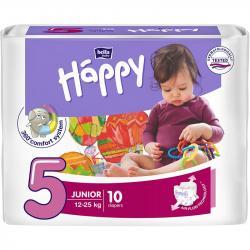 Bella Happy pieluszki Junior 5 (12-25kg) 10 sztuk