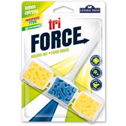 General Fresh Tri-Force kostka do wc cytrynowa