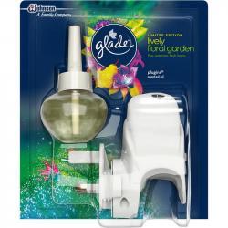 Glade by Brise elektryczny odświeżacz powietrza Lively Floral Garden