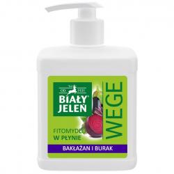 Biały Jeleń WEGE mydło w płynie 500ml Bakłażan i Burak
