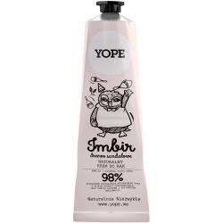 -40% wyprzedaż Yope krem do rąk 100ml Imbir i drzewo sandałowe