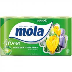 Mola Aroma papier toaletowy dwuwarstwowy Wiosenny Poranek 8 sztuk