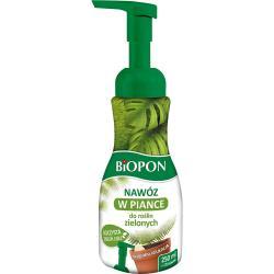 Biopon nawóz pianka Rośliny zielone 250ml