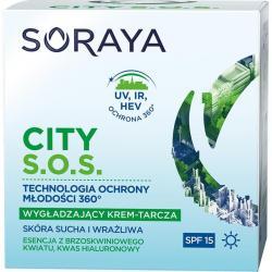 Soraya City S.O.S krem wygładzający na dzień skóra sucha i wrażliwa 50ml