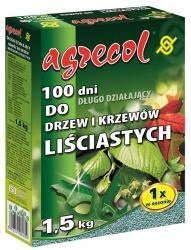 Agrecol nawóz do drzew i krzewów liściastych 100 dni 1,5kg