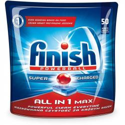Finish All In 1 kapsułki do zmywarek 50 sztuk