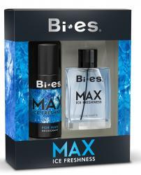 Bi-es zestaw MAX ice freshness woda + dezodorant