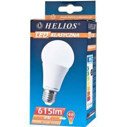 Helios LED żarówka klasyczna A60 230V 8W E27