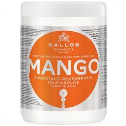 Kallos Mango maska do włosów regenerująca 1000ml