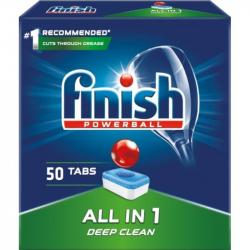 Finish All In 1 kapsułki do zmywarek 50 sztuk Deep Clean