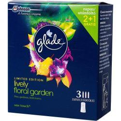 Glade by Brise wkład wymienny mini spray 2+1 Lively Floral Garden