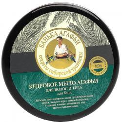 Babuszka Agafia mydło do ciała i włosów cedrowe 300ml