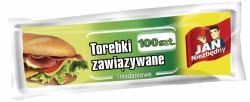 Jan Niezbędny zawiązywane woreczki śniadaniowe 100 sztuk