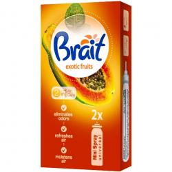 Brait Mini Spray zapas 2x10ml Exotic Fruits