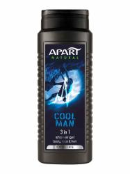 Apart 3w1 Cool Men żel pod prysznic 500ml