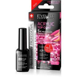 Eveline Nail Acrylic Top Coat Ekstremalna Ochrona przeciw odpryskom