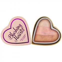 Revolution (I ♡ Makeup) róż Blushing Hearts Iced Hearts