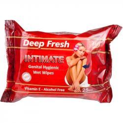 Deep Fresh chusteczki do higieny intymnej 25 sztuk