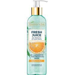 Bielenda Fresh Juice żel micelarny nawilżający 190ml Pomarańcza