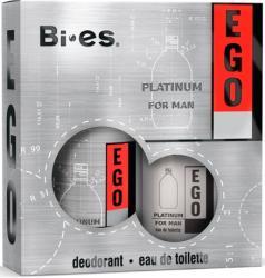 Bi-es zestaw Ego Platinum woda + dezodorant