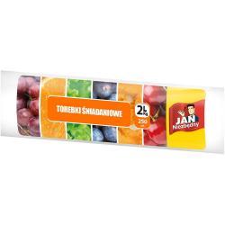 Jan Niezbędny torebki śniadaniowe 2L 250 sztuk