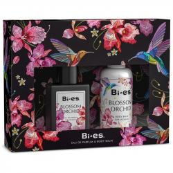 Bi-es zestaw Blossom Orchid (EDT 100ml + Balsam 75ml)