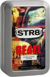 STR8 płyn po goleniu Rebel 100ml w ozdobnej puszce