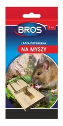 Bros łapka na myszy drewniana 2-pak