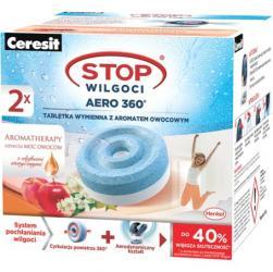 Ceresit Stop Aero 360 pochłaniacz wilgoci zapas tabletki owocowe