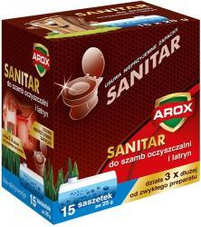 Arox Sanitar środek do szamb i oczyszczalni 15 x 25g