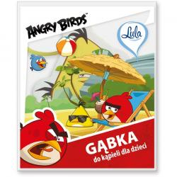 LULA gąbka do kąpieli Angry Birds
