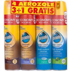 Pronto aerozole do czyszczenia powierzchni 3+1 gratis